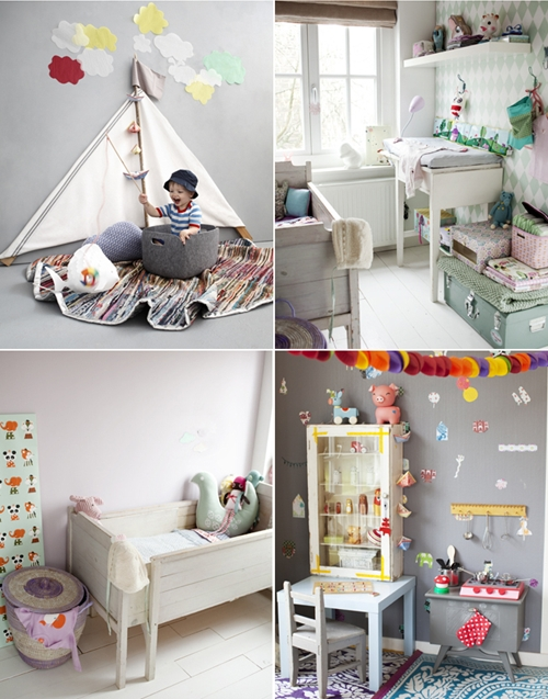 M s ideas para decorar el dormitorio infantil decopeques for Decoracion vintage reciclado