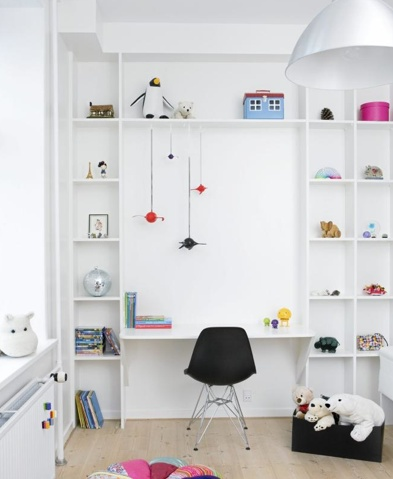 10 ideas para organizar y decorar la zona de estudio de for Cuarto de estudio para adultos