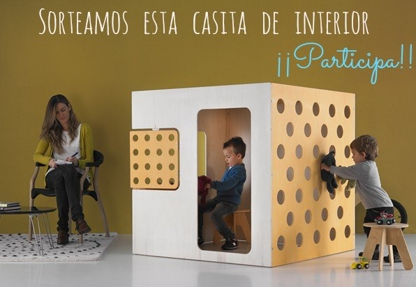 ¡SORTEO! Gana una casita de interior de Green House