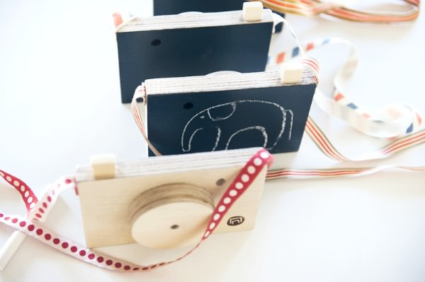 Wooden Toy Camera by Nimio