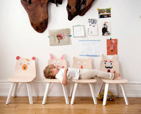 Play Collection, los divertidos muebles de Oeuf