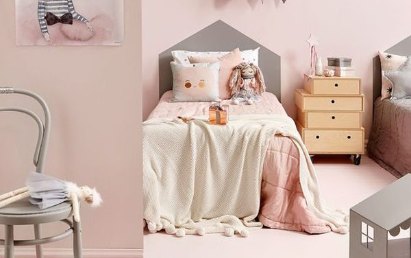 Cómo decorar habitaciones infantiles en color rosa- 6 ideas
